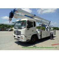 Cheap King Run 22m Truck Mounted Bucket Lift Aerial Work Platform LHD / RHD EURO 3 for sale