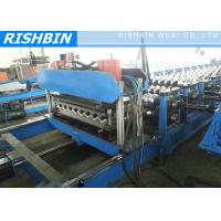 China Carbon Arch Culvert Cold Roll Roof Panel Roll Forming Machine 30 m / min , 0.8 - 1.2 mm on sale
