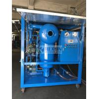 Cheap Weather Proof Type High Efficiency Vacuum Electric Insulating Oil Purifier Machine for Power Plant Maintenance for sale