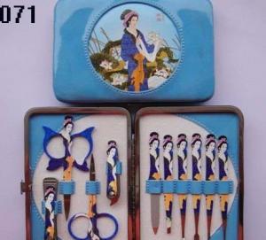 Cheap Promotion Aluminum Manicure Set, Mini Pedicure Set, Manicure Pedicure Set 5PCS for sale