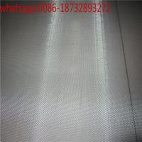 China Micron Molybdenum wire mesh filter cloth/black and white molybdenum Wire Mesh on sale
