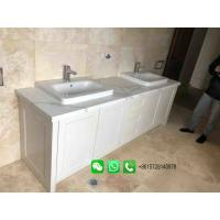 China Hot Sale Marble Bathroom Washstand Washbasin Cabinet For Home or Hotel on sale