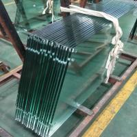 Cheap Australia standard 12mm clear toughened fully safety Frameless Glass for Interior Balustrading Staircases for sale