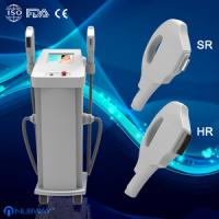 Cheap good cooling two handpieces 1800w power big spot IPL machine supplier for salon for sale