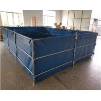 Cheap Outdoor And Indoor 30000L PVC Tarpaulin Foldable Fish Tank for sale