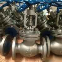 Cheap class150 stainless steel globe valve flange end for sale