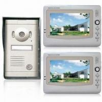 Cheap 7-inch Video Door Phone with CMOS Camera and Audio/Video Communication for sale