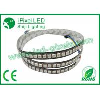 Cheap 60 Ws2812B LED Strip DC5V Consumption Cutable Addressable LED Strip for sale