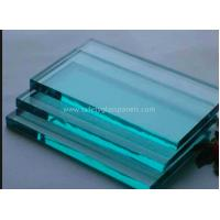 Cheap Insulated Extra Clear Float Glass Sheets , Flat Back Painted Glass Partition Wall for sale