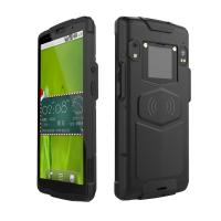 Cheap GPS Qr code black Android 8.1 Barcode Scanners with 4500mAh battery for sale
