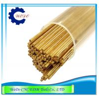 Cheap 0.6x400mmL Double Hole EDM Brass Tube / Eletrode Pipe For EDM Drilling Machine for sale