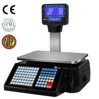 Cheap Electronic Weighing Scales Cash Register Barcode Scale With Printer for sale