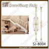 Buy cheap Pear White Casting Aluminum Balustrade for Railing (SJ-B004) from wholesalers