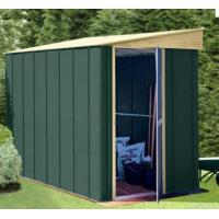 Cheap Lean To Pent Metal Shed for sale