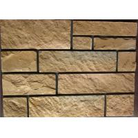 Cheap Rectangle Exterior Faux Stone , Stone Siding Panels For Homes for sale