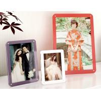 Cheap colorful acrylic photo frames for sale