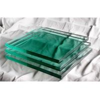 Cheap Laminated Bullet Proof Glass Sheets Natural Green 30mm For Cash Truck for sale