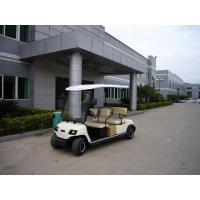 Cheap Electric four seater golf carts, color optional wholesale