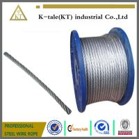 Cheap Galvanized Steel Wire Rope for Control Cable for sale