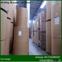 Cheap Promotional price two side coated 157gsm Art Paper Manufacturers in China for sale