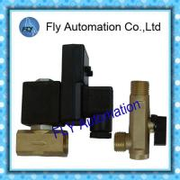 China 1/4 ADV type Automatic Pneumatic Solenoid Valves , Drain Valv on sale