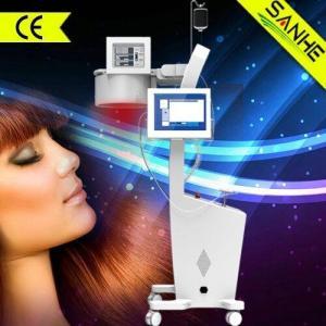 wholesale--2015 New Laser + LED hair loss treatment hair regrowth/dexe hair building fiber