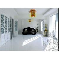 Cheap Pure White Free Hole Glass Tiles for Countertop for sale