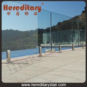 Cheap Frameless Glass Fence for Swimming Pool (SJ-3204) for sale