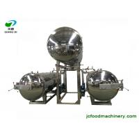 Cheap industrial semi-automatic electric autoclave sterilizer machine for bottles/pouches/bags/canned food for sale