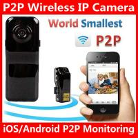 Quality MD81S WiFi Camera iOS/Android Wireless IP P2P Surveillance Camera Spy Hidden TF wholesale