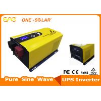 Cheap Automatic Switch UPS Solar Inverter Low Frequency 12V 24V 2kw For Solar / Off Grid wholesale