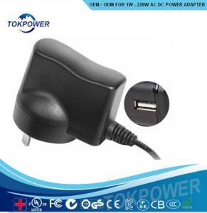 Cheap 5 watt  Universal USB Power Adapter travel Wall Mounted Power Supply for sale