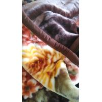 Cheap sigle blankets quilted blanket /cashmere raschel blanket (mink blanket),/size 140X200CM for sale