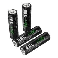 Buy cheap 1100mAh AA Rechargeable Batteries, 1.2V NiCd Rechargeable Battery from wholesalers