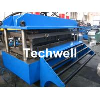 Cheap Polyurethane Sandwich Panel Production Line For Color Steel With PLC Touch Screen Control for sale