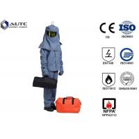 Quality Overall High Visibility PPE Safety Wear Jackets Pants Hood Wear Resistance Durable wholesale