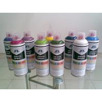 Cheap Non toxic Eco-friendly Artist Aerosol Spray Paint for Wood / Plastic / Metal Surface for sale