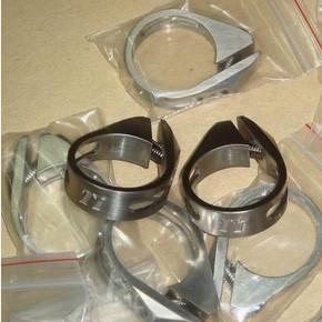 Cheap Titanium Bike Parts GR5 6Al/4V Titanium Bicycle Seat Clamp 31.8MM for sale