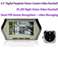 "Cheap 4.3"" LCD Electronic Door Peephole Viewer Camera Home Security DVR Night Vision Video Doorbell Door Phone Access Control for sale"
