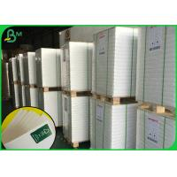 Cheap 140g 150g 157g Gloss Coated Paper / Glossy White Paper With Virgin Wood Pulp Material for sale