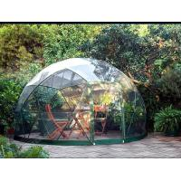 Cheap Customized Waterproof Windproof Movable Geodesic Dome Tent With Steel Frame for sale