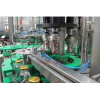 China Fresh Apple Beverage Glass Bottle Hot Juice Filling Machine With Return System on sale