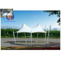 Cheap Crown Shape Colorful Cover Tensile Fabric Structures Tarp Buildings For Outdoor Sun Shade for sale