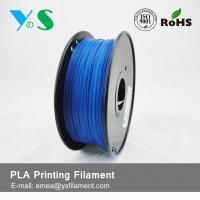 Cheap 1.75mm Fluorescent Blue PLA 3D Printer Filament For Desktop 3D Printer for sale