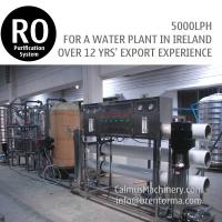 Cheap 5000LPH Ireland Ordered Industrial Water Plant RO Water Treatment System for sale