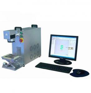 China Memory Card Making Machine , 20w Fiber Laser Marking Machine For Metal on sale