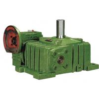 Cheap WPE Industrial Worm Gear Reducer Double Reduction Worm Gearbox , Green for sale