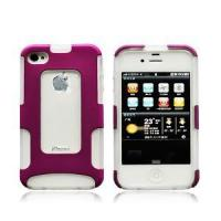Cheap PC+TPU 2 in 1 Combo Case for Apple iPhone 4G for sale