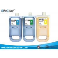 Quality Waterproof Wide Format Inks 700ML Canon Ipf9400 Plotter Premium Pigment Ink for sale