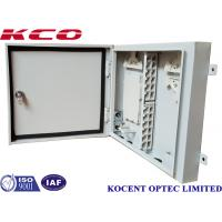 Buy cheap KCO-ODB-72A 72 Port Fiber Optic Terminal Box 96 Fiber Wall Pole Mount Metallic from wholesalers